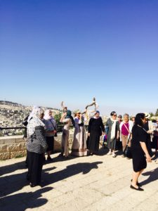 5-18-16 Peace March - Blowing of the Shofar