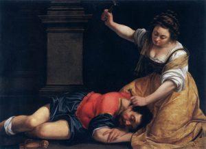 Giaele_e_Sisara Artemisia Gentileschi